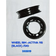 WHEEL RIM-ACTIVA110CC(BLACK)/DIO -D03019